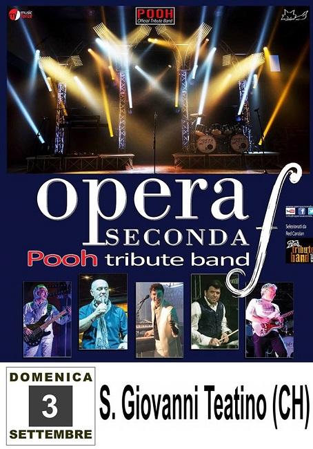 pooh tribute band 3 settembre
