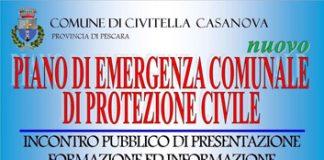 presentazione del nuovo Piano di Emergenza Comunale