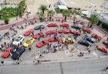 raduno Ferrari 2017 a Tortoreto