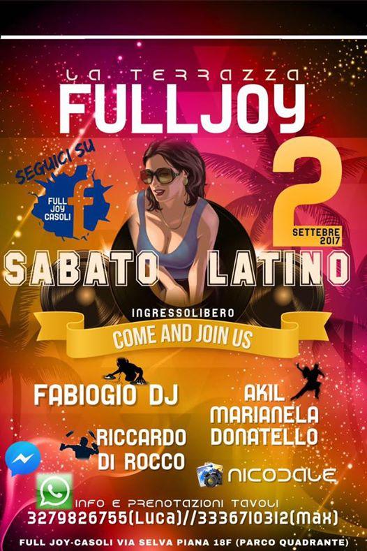 abato latino full joy 2 settembre