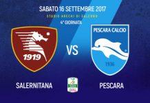 Serie B, Salernitana-Pescara: informazioni e prezzi dei biglietti