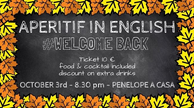 aperitif in english 3 ottobre