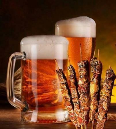 arrosticini e birra