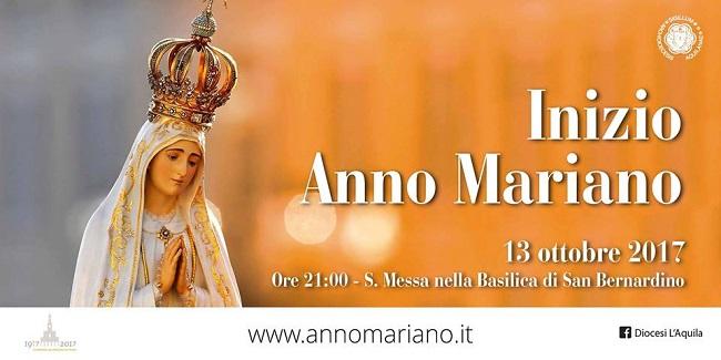 inizio anno mariano