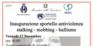 Alanno inaugurazione sportello antiviolenza