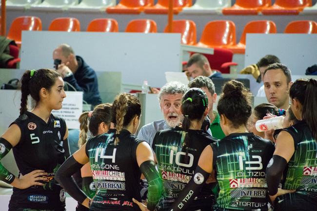 Volley, buon punto della CO.GE.D. a Orsogna: 3-2 il risultato