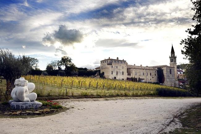 Castello di Semivicoli_esterno