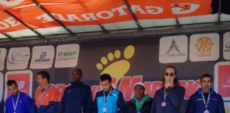 Corsa di San Martino 2017 a Controguerra podio maschile