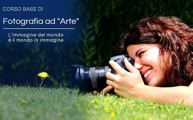 Corso base di fotografia ad arte