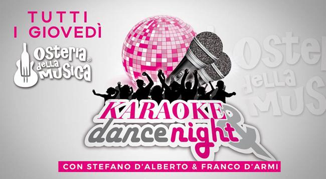 Karaoke giovedì Osteria della musica