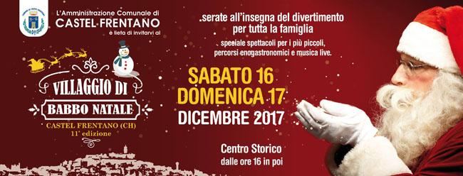 Villaggio Babbo Natale a Castel Frentano
