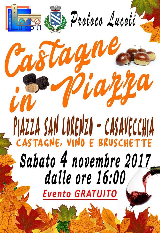castagne in piazza