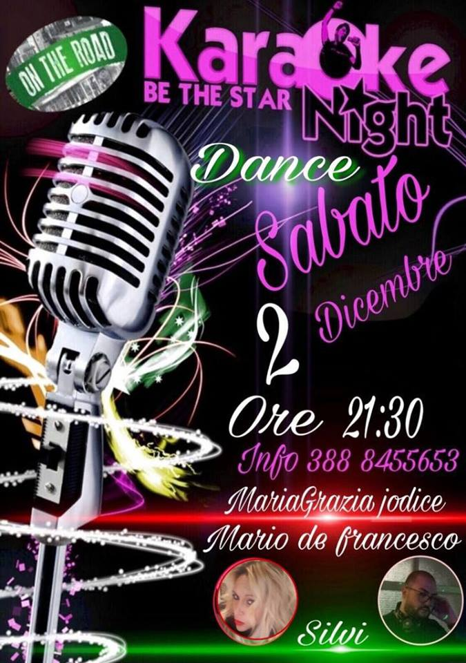 araoke on the road 2 dicembre
