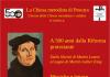 locandina 500 anni dalla riforma protestante