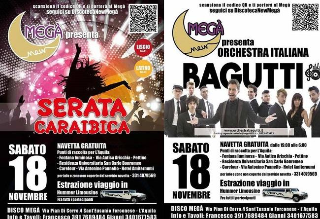 Calendario Serate Orchestra Bagutti.Liscio Con Orchestra Bagutti E Latino Discoteca New Mega 18