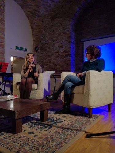 Evelina Frisa e Donatella Di Pietrantonio