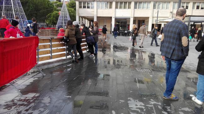 Foto piazza Salotto allagata 2