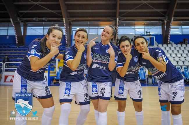 Pescara Calcio Femminile questa sera al PalaRigopiano