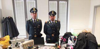 GdF Montesilvano sequestro merce contraffatta