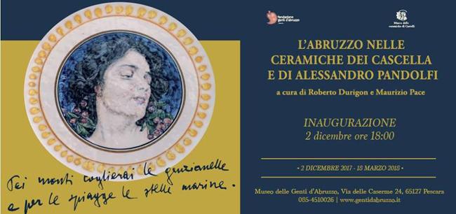 L'Abruzzo nelle ceramiche dei Cascella e di A. Pandolfi a Pescara
