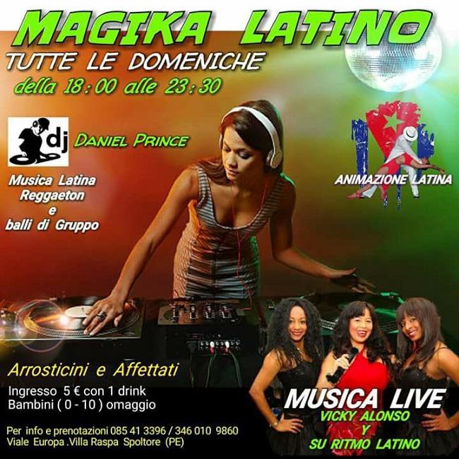 Magika Latina 3 dicembre 2017