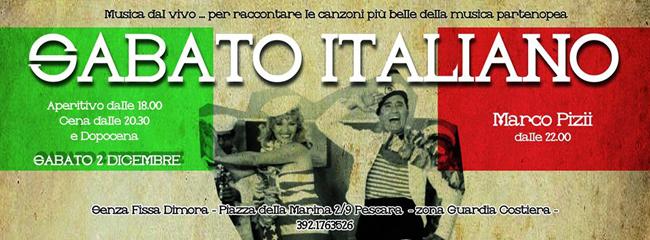 Sabato Italiano con Marco Pizii