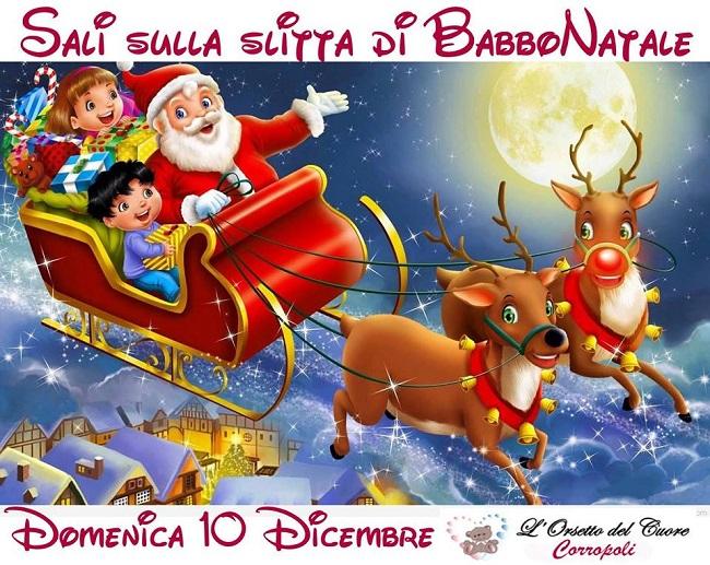 Foto Slitta Di Babbo Natale.Sali Sulla Slitta Di Babbo Natale