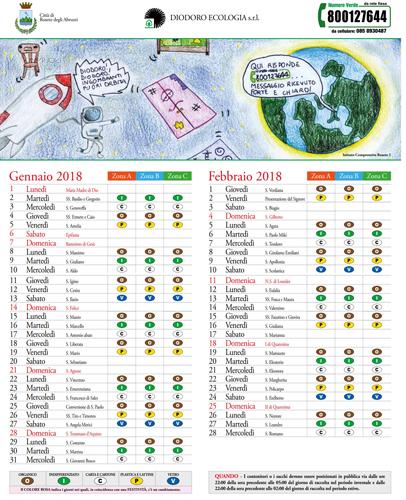 Calendario Raccolta Differenziata Teramo.Roseto Calendario Raccolta Rifiuti