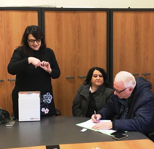 Estrazione lotteria incaricati del sindaco