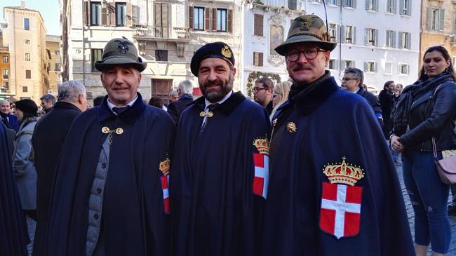 La delegazione di Teramo della INGORTP al 140° anniversario