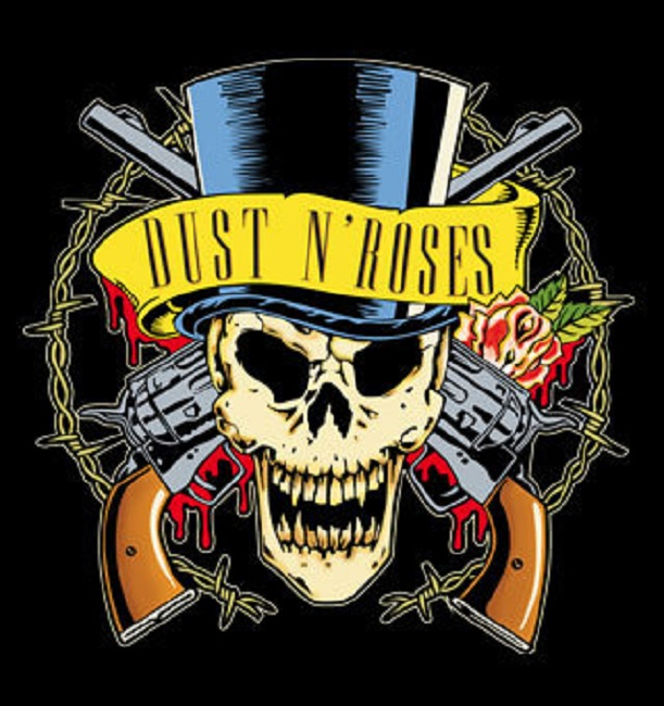 dust n roses logo