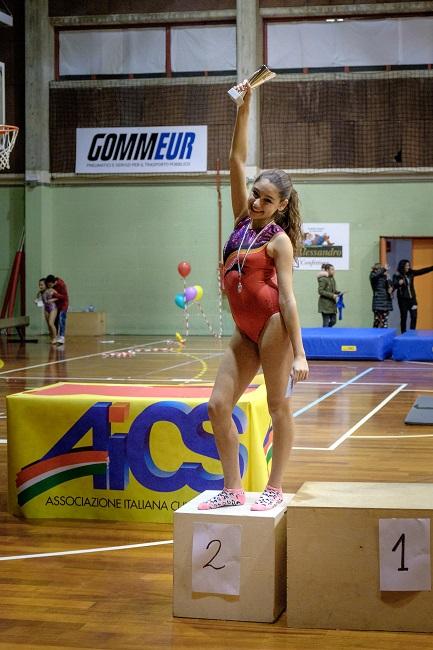 Ginnastica artistica: Fabiana Carusi sul podio ai Campionati Regionali