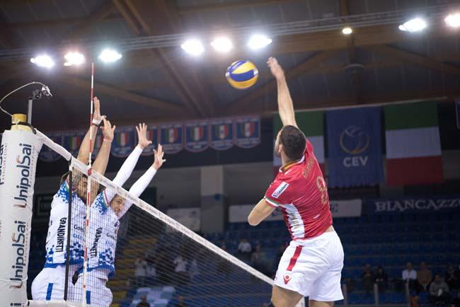 Volley: Impavida Ortona sconfitta 3-1 a Civitanova Marche