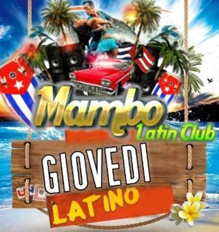 Mambo latin club giovedì
