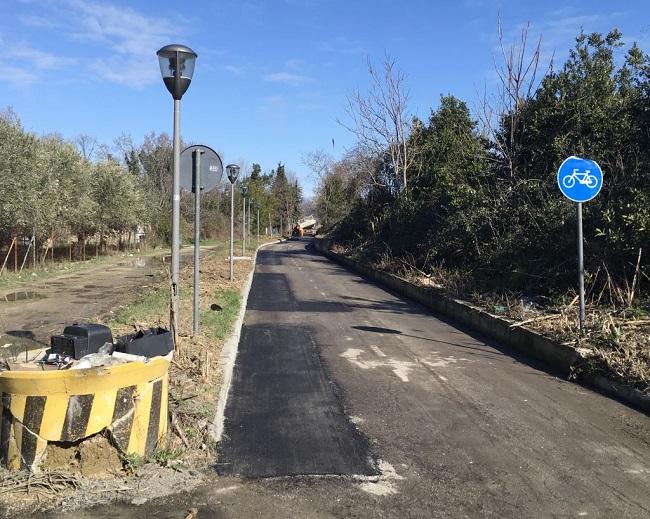 ciclabile fiume sud Pescara