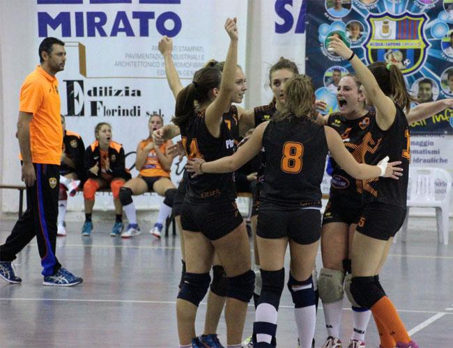 Volley: successo per Città Sant'Angelo contro la capolista Roseto