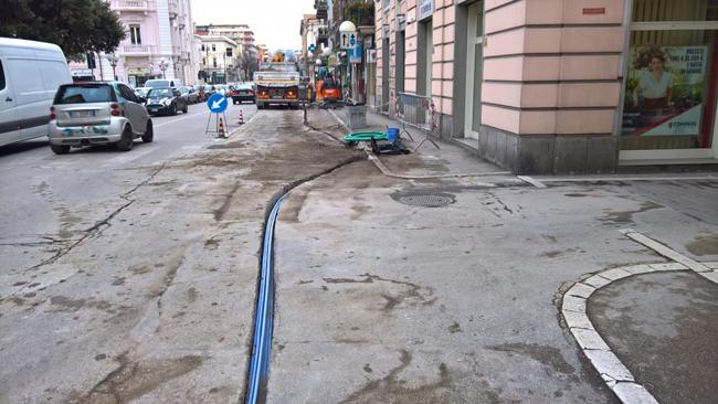 lavori fibra Pescara