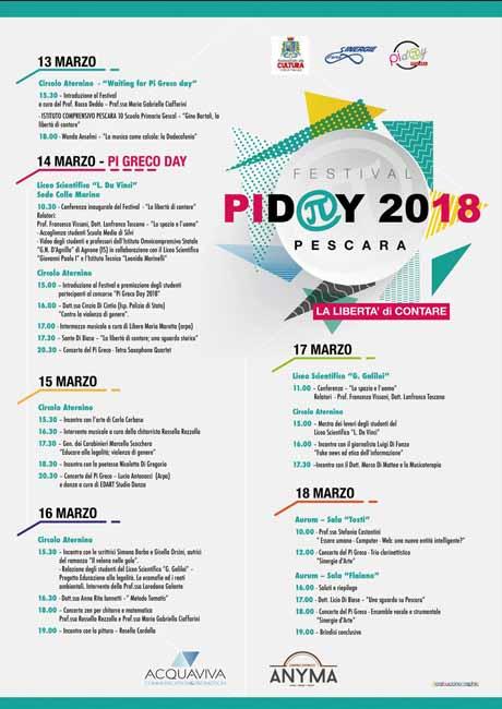 Festival Pi Greco Day 2018