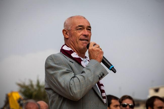 Paolo Pulici a Teramo, il bomber incontra i tifosi