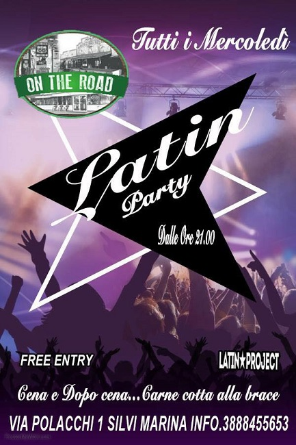latin party on the road