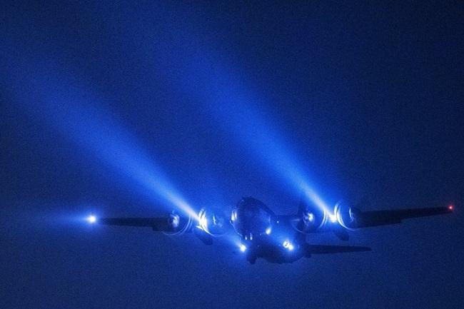 aereo notturno