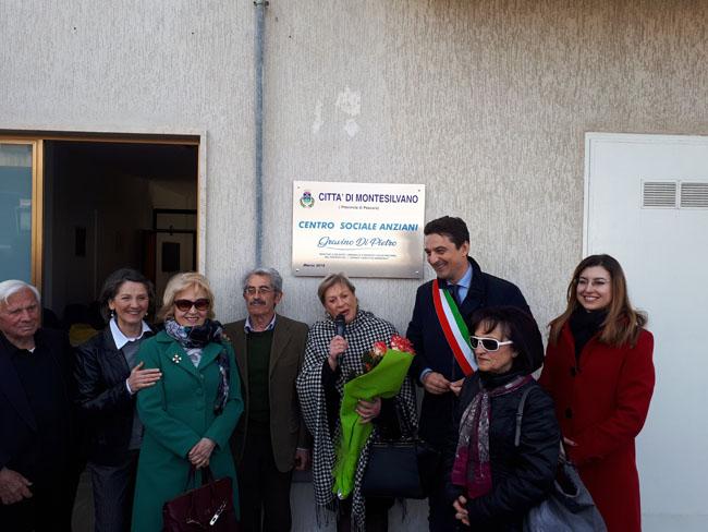 Montesilvano, aperto nuovo Centro Anziani in Via Marrone