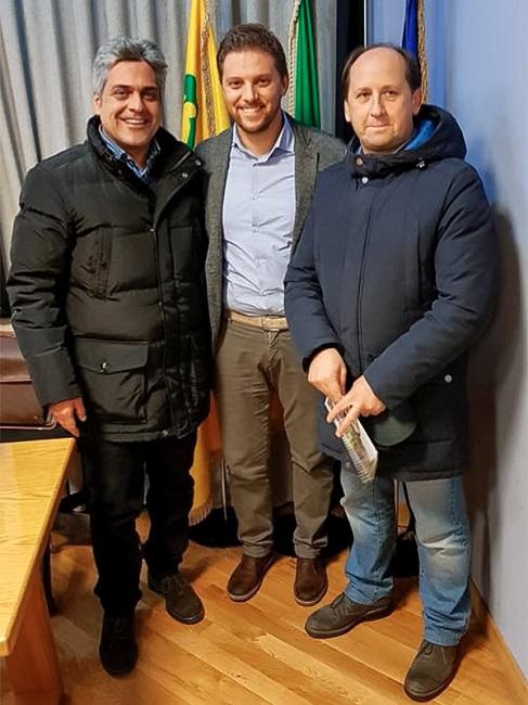 Andrea Scarnecchia e Augusto Barile