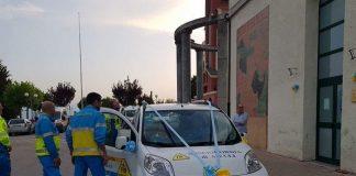 Aielli,donata nuova autovettura Misericordia