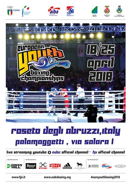 Euro Youth Boxing Roseto 2018
