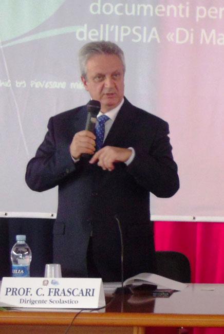 segretario regionale Carlo Frascari