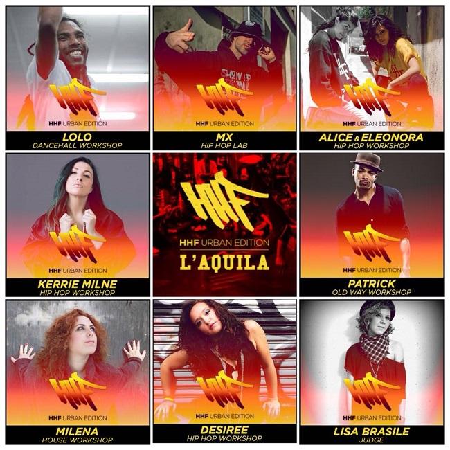 HHF, Hip Hop Festival Abruzzo: a L'Aquila l'edizione 2018
