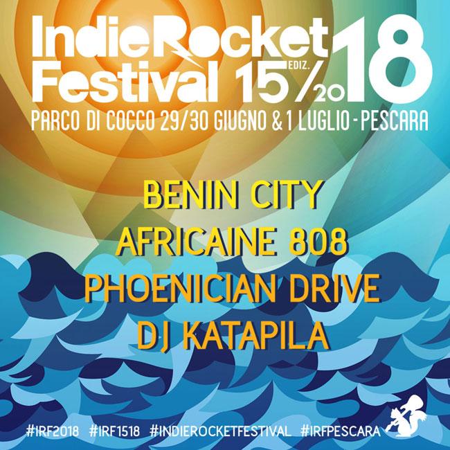 IndieRocket Festival 2018 Pescara