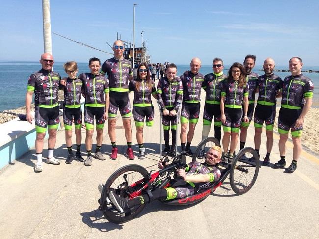 San Vito Chietino, paraciclismo: la Maniga Paracycling Team si presenta