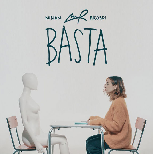 Miriam Ricordi Basta cover singolo